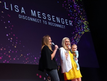 Lisa Messenger at Wired for Wonder - Jess Irwin