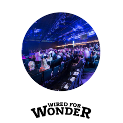 """Wired for Wonder 2015 launched in Melbourne and came together again in Sydney under the thematic """"In and Out"""" with 1100 attendees"""